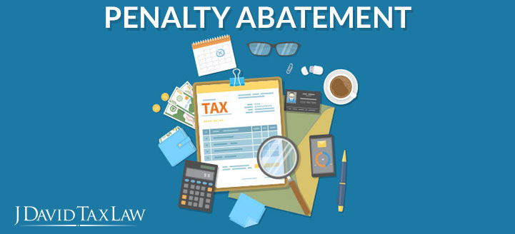 j david tax law can help with penalty abatement