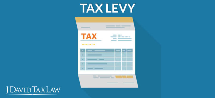 j david tax law can help with tax levy