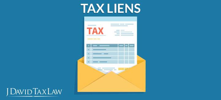 j david tax law can help with tax liens