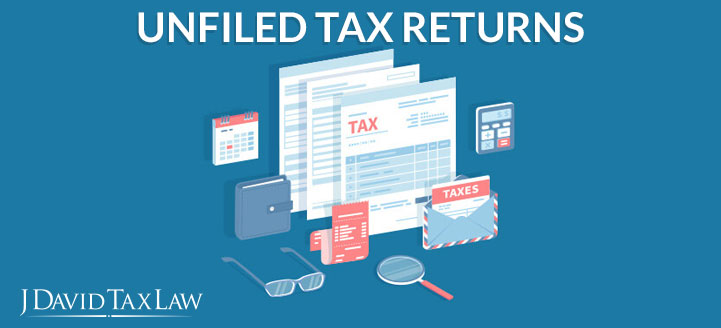 j david tax law can help with unfiled tax returns