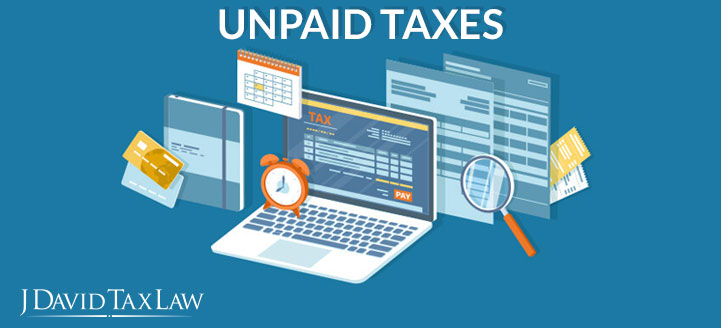 j david tax law can help with unpaid taxes